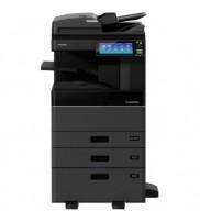 Máy photo Toshiba Digital Copier – e-STUDIO 3008 lưu trữ HDD lến đến 320G tự bảo mật, in từ ĐTDĐ